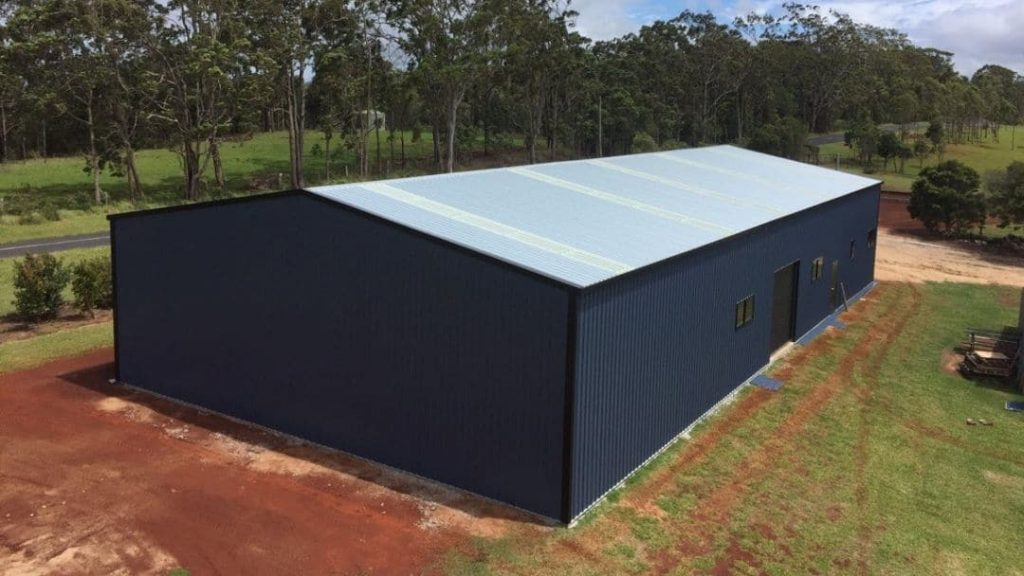 Colorbond Farm Shed made by Oz Patios & Sheds Cairns