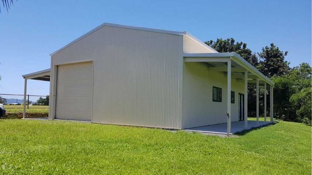 Farm Shed made by Oz Patios & Sheds Cairns