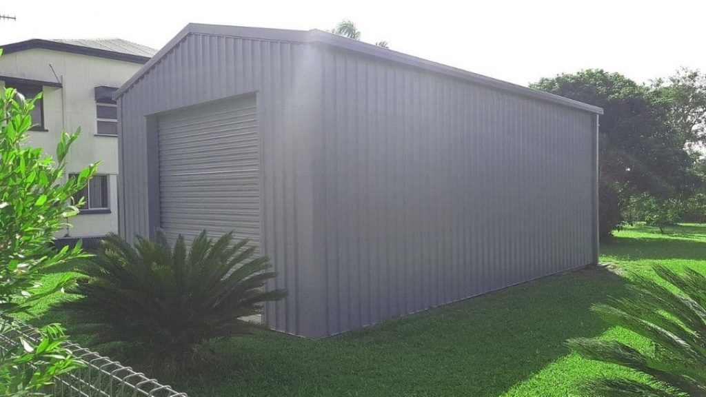Gable Roof Shed- Oz Patios & Sheds Cairns