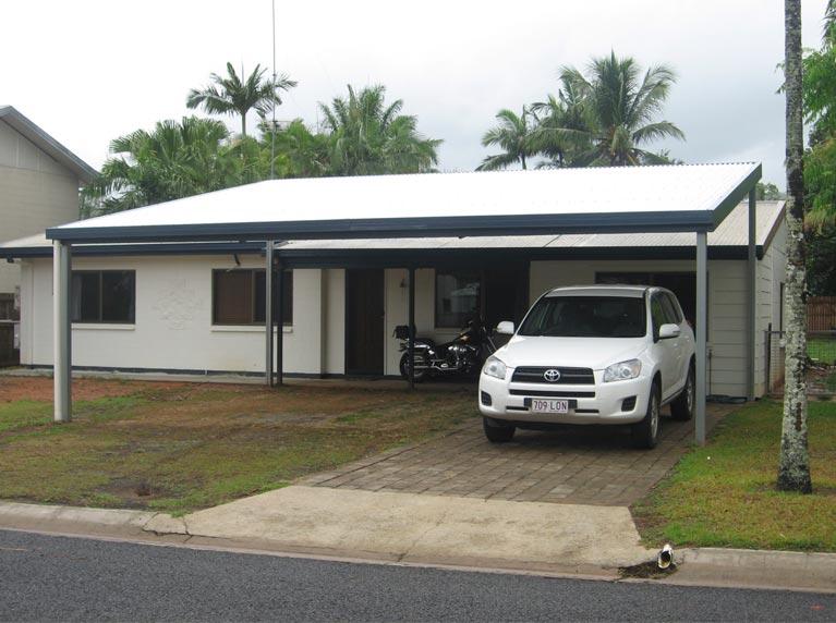 Carport 3 - Oz Patios & Sheds Cairns