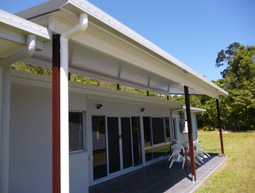 Ecanaro Style Patio constructed in Cairns, Qld, Australia