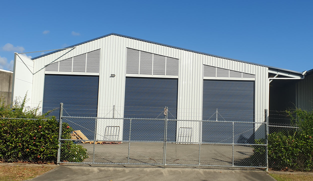 Industrial Shed - Oz Patios & Sheds Cairns Queensland