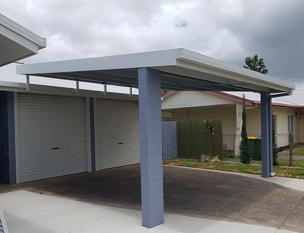 Carport made by Oz Patios & Sheds Cairns
