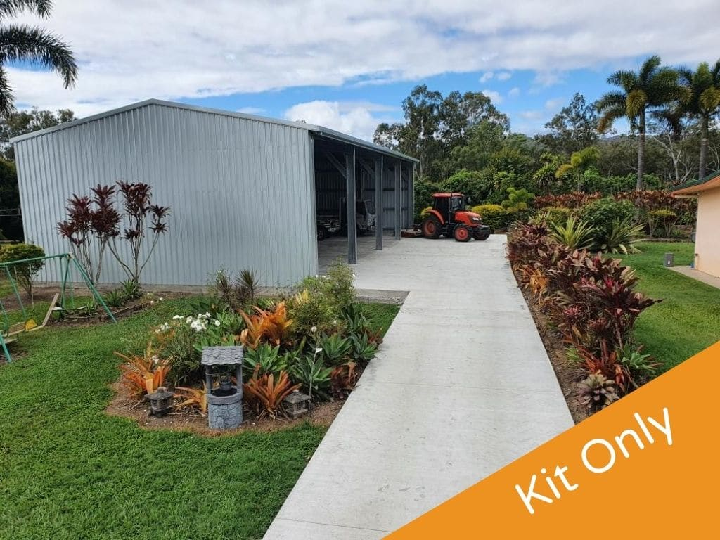 Kit Only Shed supplied by Oz Patios & Sheds Cairns