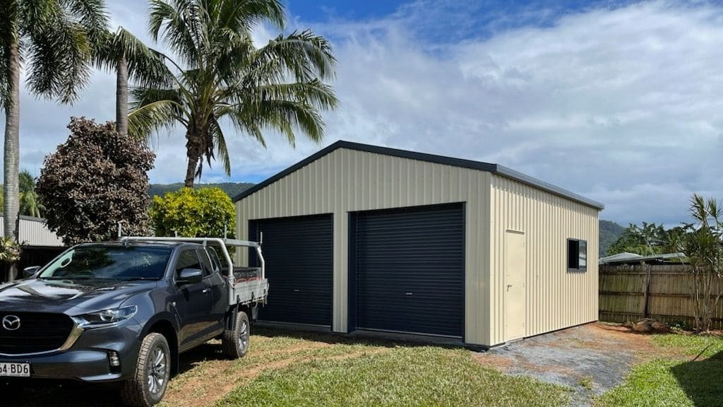 Gable Roof Garage Cairns, Queensland
